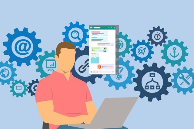 atención al cliente y tecnología chatbot