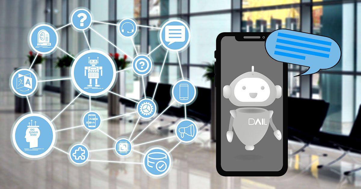 chatbot dail software teléfono oficina