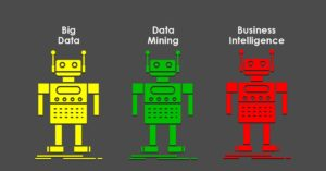 robots, big data, data mining, business intelligence, diferencias