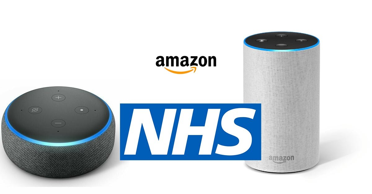 amazon, alexa, nhs