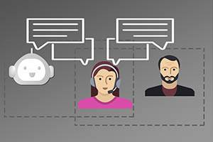 chatbot, conversacion, chat, call center