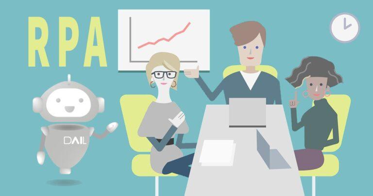 rpa, empresa, reunión, resultados, software