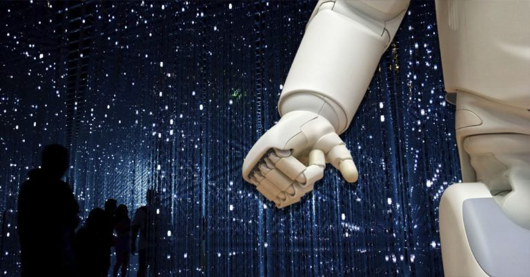 robot, mano, futuro, inteligencia artificial, machine learning