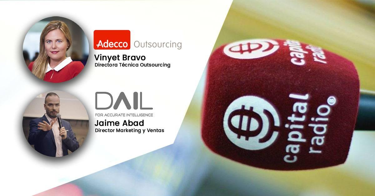 Jaime Abad, Vinyet Bravo, Capital Radio, capital la bolsa y la vida, entrevista, startup y corporate
