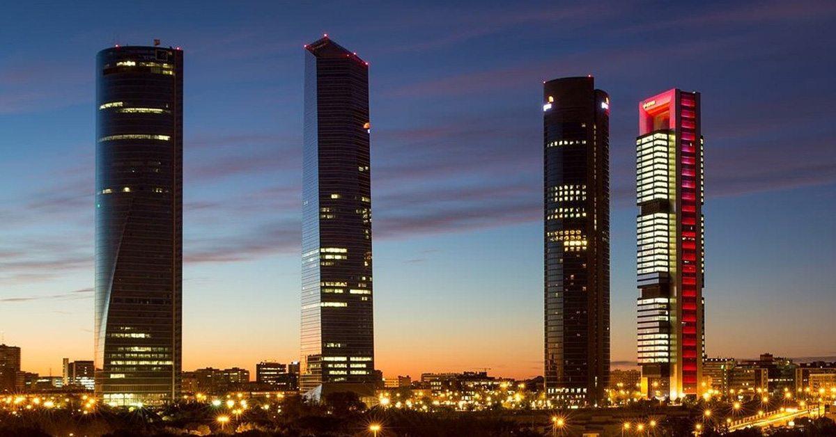 torres, rascacielos, madrid, cepsa, españa, negocios