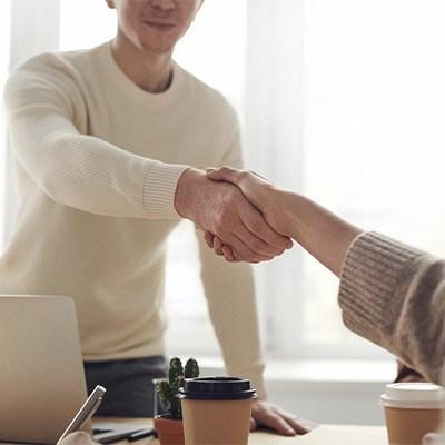 entrevista, cv, empleado, manos,