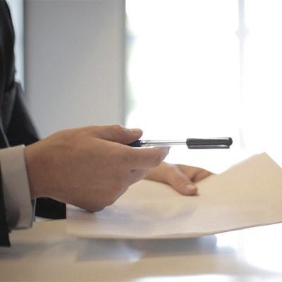 documentos, papel, notas simples, banca, bolígrafo, oficina